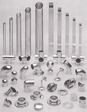 Off-the-shelf railing components