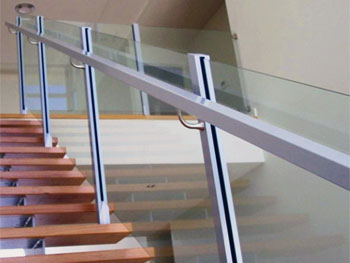 Railings With Glass Panels